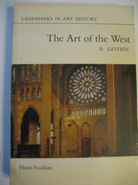 9780714821009: The Art of the West in the Middle Ages (Landmarks in Art History, Volume II)
