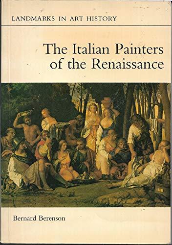 9780714821030: Italian Painters of the Renaissance