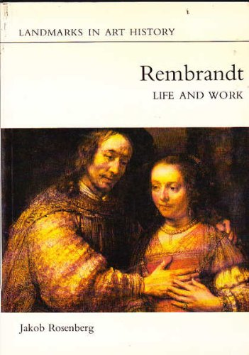 9780714821290: Rembrandt : Life and Work