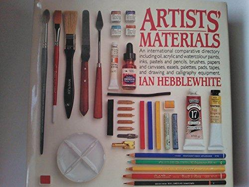 9780714824321: Artist's Materials