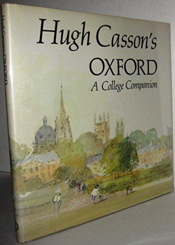 Hugh Casson's Oxford: A College Companion (0714824585) by Casson, Hugh