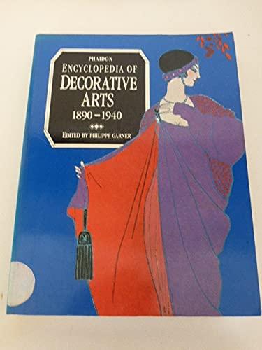 9780714825342: Phaidon Encyclopaedia of the Decorative Arts: 1890-1940