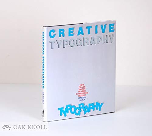 9780714825595: Creative Typography