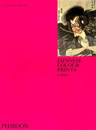 9780714827216: Japanese Colour Prints: Colour Library (Phaidon Colour Library)