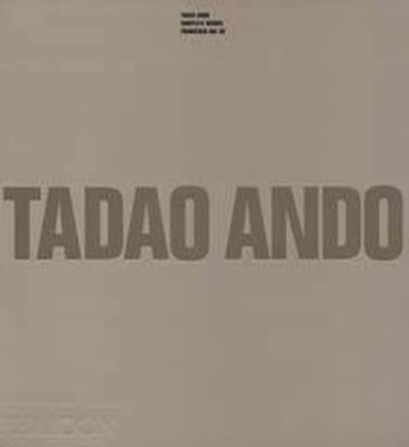 9780714837178: Tadao Ando. Complete Works (Architecture Générale)