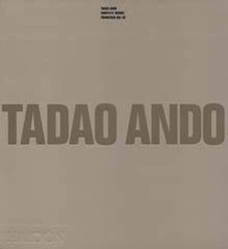 9780714837178: Tadao Ando: Complete Works (1969-1994)