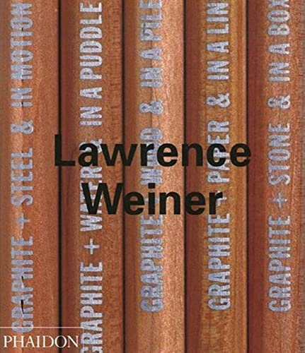 9780714837550: Lawrence Weiner (Contemporary Artists (Phaidon))