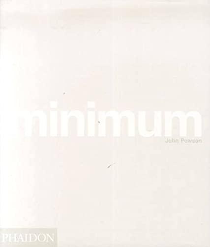 9780714838175: Minimum. Mini Format (Phaidon Miniature Editions)
