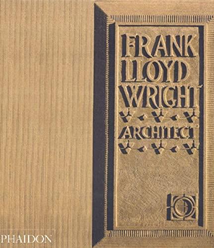 9780714838540: Frank Lloyd Wright. Ediz. inglese