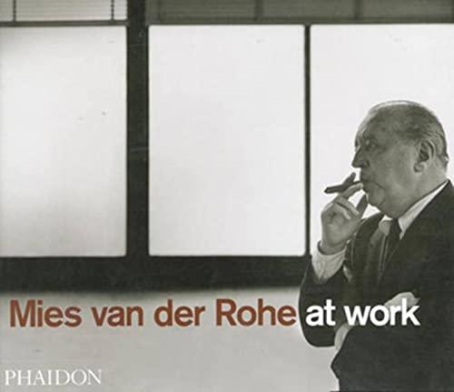 9780714838960: Mies van der Rohe at work. Ediz. illustrata