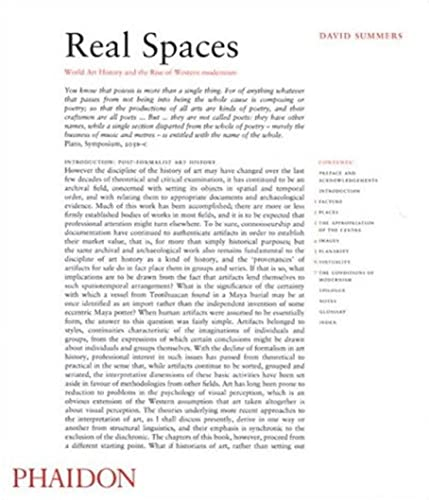 9780714842448: Real Spaces: World Art History and the Rise of Western Modernism