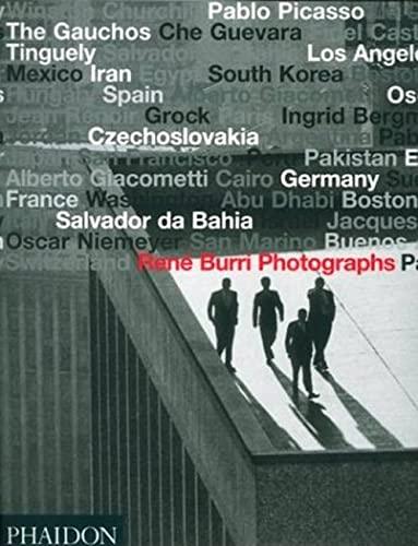 9780714843155: René Burri. Photographs (Fotografia)