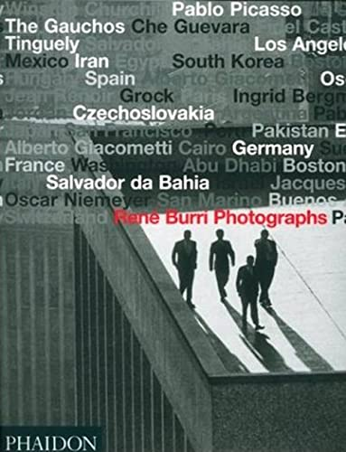 9780714843155: Rene Burri Photographs [Lingua inglese]