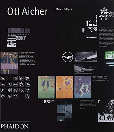 9780714843964: Otl Aicher. Ediz. inglese