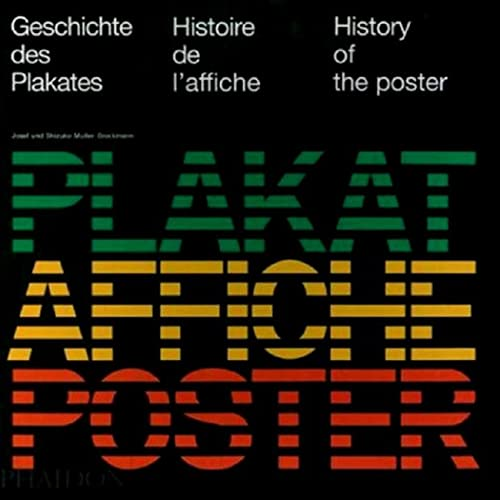 9780714844039: History of the Poster