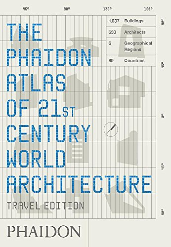 9780714848785: The Phaidon Atlas of 21st century. World architecture - Travel edition