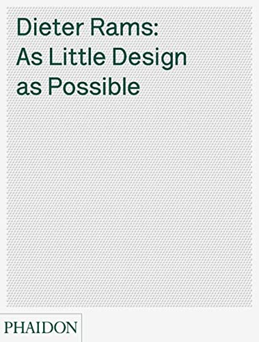 9780714849188: Dieter Rams: as little design as possible