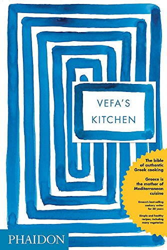 Vefa's Kitchen 9780714849294 Featuring more than 700 straightforward and mouthwatering Greek recipes, this cookbook from a leading culinary authority in Greece offers everything from simple salads to simmered meat dishes.