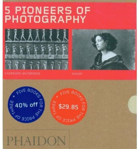9780714849379: Five Pioneers of Photography - 2008 Boxed Set (55s)