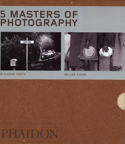9780714853673: Five Masters of Photography - Box Set of 5 (55 Series)