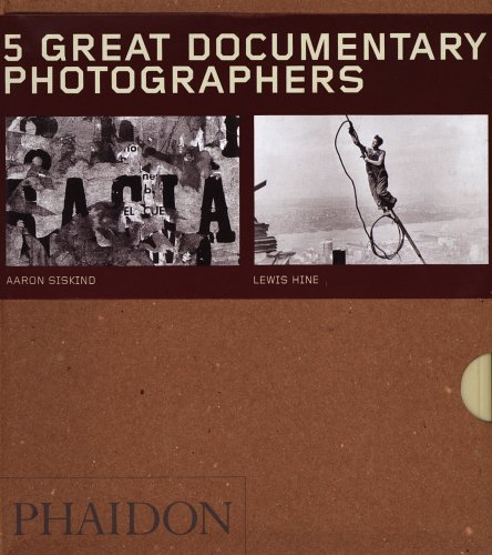 9780714853680: Five Great Documentary Photographers - Box Set of 5 (55s)