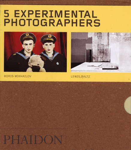 9780714853697: Experimental Photographers - Box Set of 5 (Phaidon 55's)