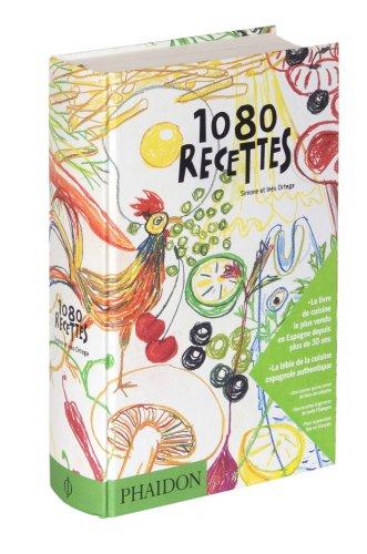9780714858548: 1080 recettes. Ediz. francese (Cuisine - Cuisine du monde)