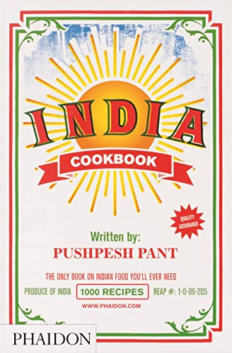 9780714859026: India. Cookbook. Ediz. inglese