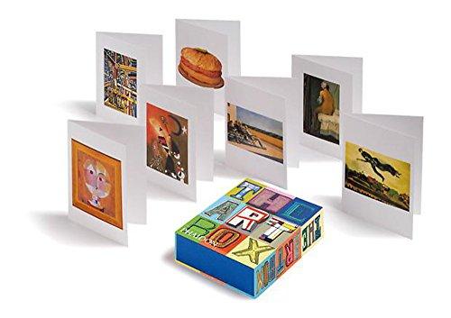 9780714865256: Art Box Blue Greeting Cards 2012