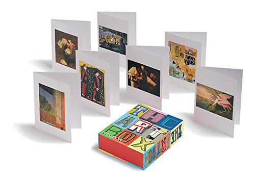 9780714865263: The Art Box Greeting Cards - Red Selection