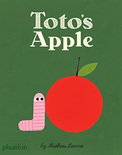 Toto's Apple 9780714872513 Creativity and perseverance lead to unexpected success for a little worm who goes after an apple high up in a tree The apple is up high.