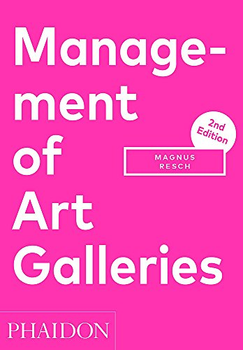 9780714873268: Management Of Art Galleries (Arte)