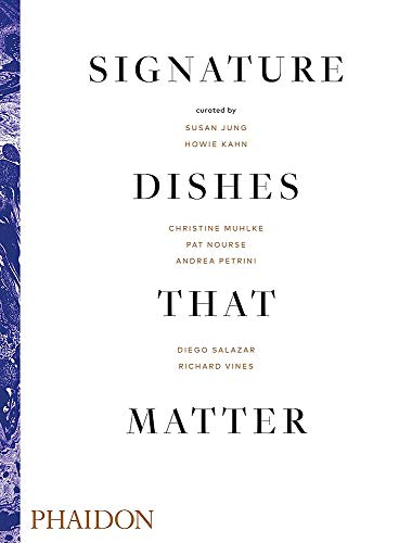 9780714879321: Signature dishes that matter (FOOD-COOK)