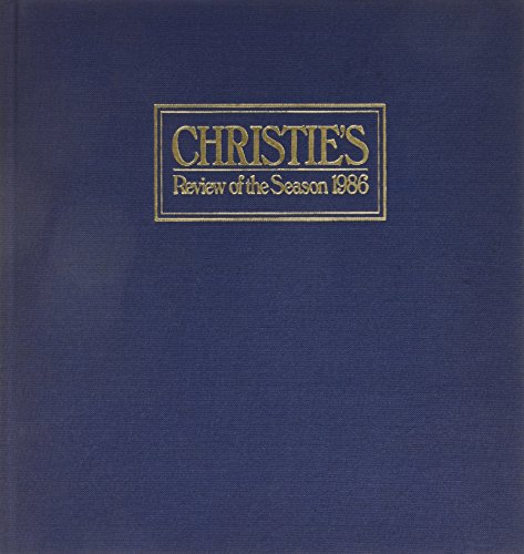 Christie's: Review of the Season 1986.: Wrey, Mark.