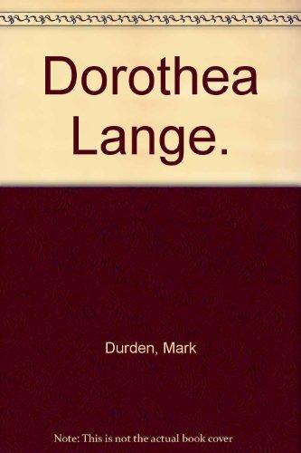 9780714891941: Dorothea Lange