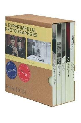 9780714896649: 5 Meister der Experimentellen Fotografie, 5 Bde: Phaidon 55