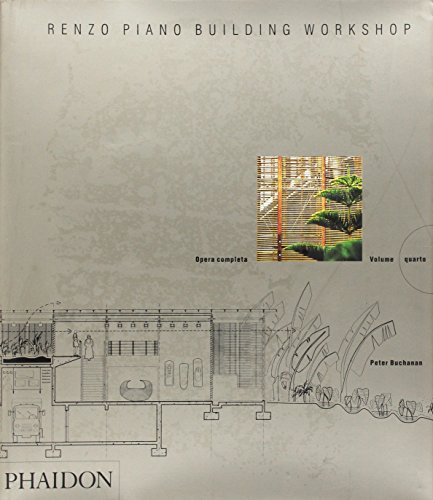 9780714898049: Renzo Piano Building Workshop. Opera completa: 4