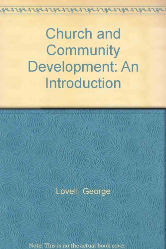 9780715000519: Church and Community Development: An Introduction