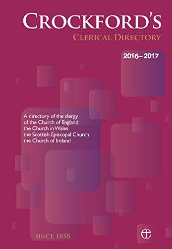Crockford's Clerical Directory 2016/17 (hardback) 9780715110980