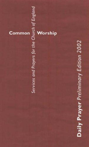 9780715120637: Common Worship: Daily Prayer, Preliminary Edition