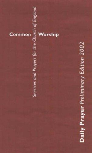9780715120637: Common Worship: Daily Prayer, Preliminary Edition