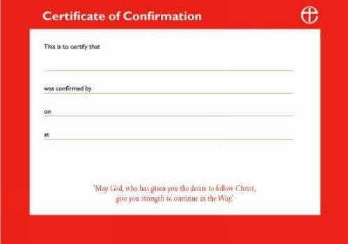 9780715121092: Confirmation Certificates