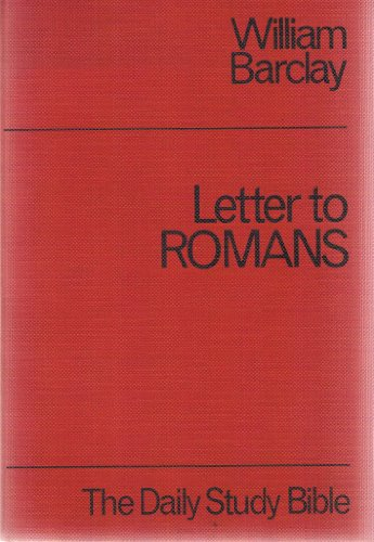 9780715200865: Romans (Daily Study Bible)