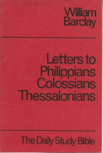 9780715200896: Philippians, Colossians, Thessalonians