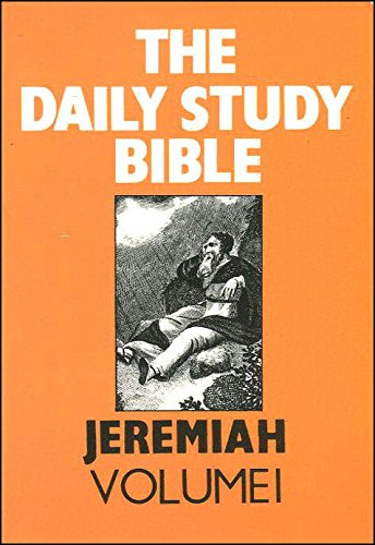 Jeremiah: Bk. 1 (Daily Study Bible) (0715205269) by Davidson, Robert