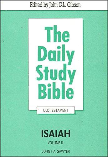 9780715205280: Isaiah: Vol. 2 (Daily Study Bible)