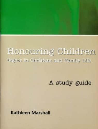 9780715208144: Honouring Children