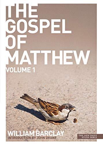9780715208908: The Gospel of Matthew: v. 1 (Daily Study Bible)