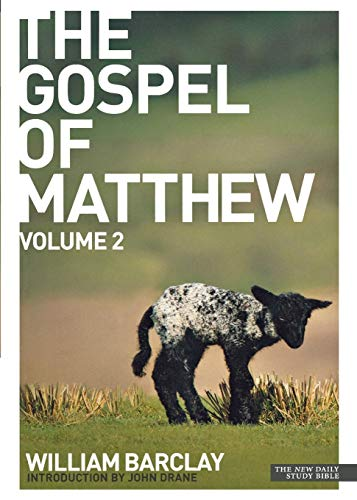 9780715208915: The Gospel of Matthew: v. 2