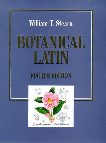 9780715300527: Botanical Latin: History, Grammar Syntax, Terminology and Vocabulary (English and Latin Edition)